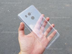 Ốp dẻo hiệu GOR trong suốt HTC U11 Plus